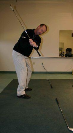 Plane drill backswing - small