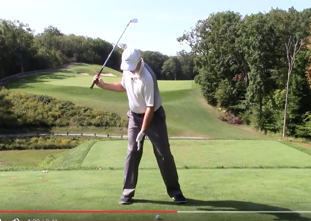 Powerful golf swing