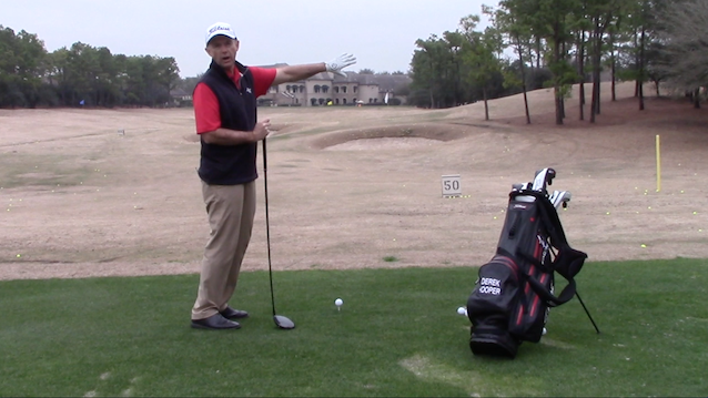 Long Straight Drives - ball position small