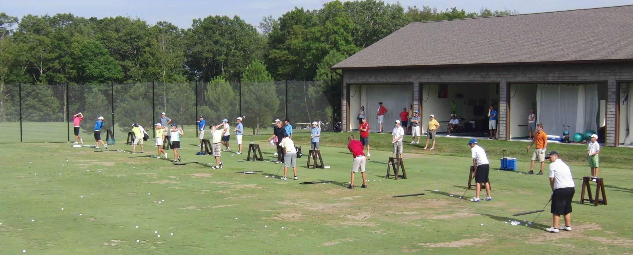 Troon Golf Academy lesson tee